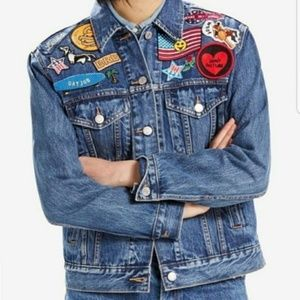 {Levi's} Limited Ex-Boyfriend Trucker Jacket Patch